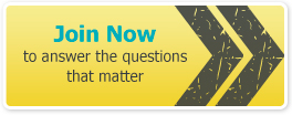 Join Now to answer the questions that matter