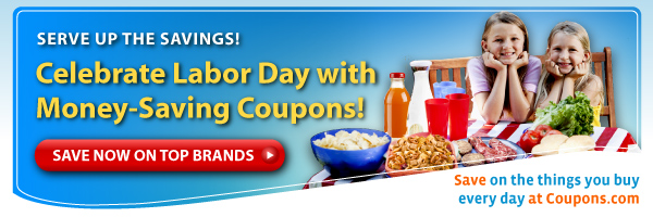 Masthead SS LaborDay dotCom Savings, Free Stuff & More